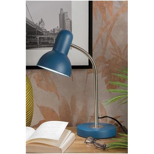 LAMPADA IN METALLO DA STUDIO D14XH40CM IN 4 COLORI