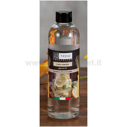 RICARICA X DIFF LIME GINGER 250ML