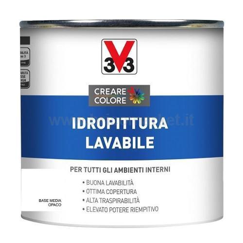 IDROPITTURA LAVABILE LT 0.25 ASPETTO OPACA BASE MEDIA