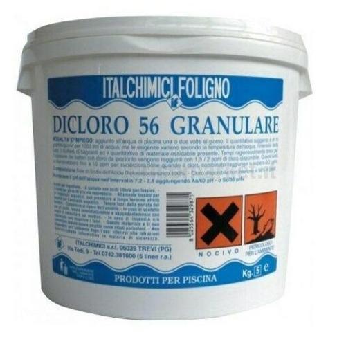 CLORO IN POLVERE HCL56% KG.5