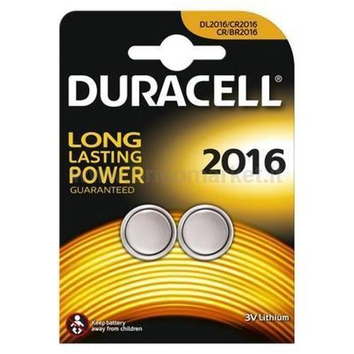 DURACELL ELECTRONICS CR2016 BLISTE 2 PZ