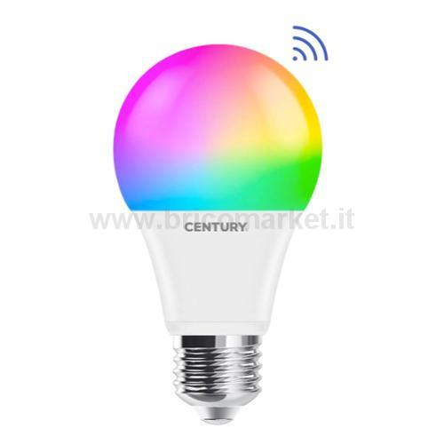 LAMPADA LED GOCCIA SMART RGB E27 14W 3000-6500K WI-FI A65