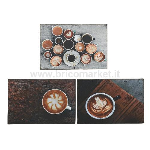 PITTURA SU LEGNO CAFFE 27X2.8X18CM
