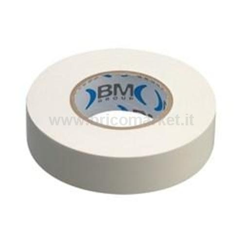 NASTRI ISOL PVC SP.0,15 15MMX10MT BIANCO