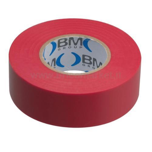 NASTRI ISOL PVC SP.0.15 15MMX10MT ROSSO