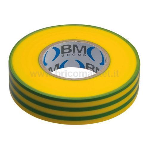 NASTRI ISOL PVC SP.0,15 19MMX25MT GI-VER