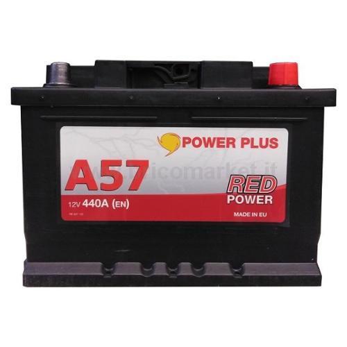 BATTERIA RED POWER 57 AH