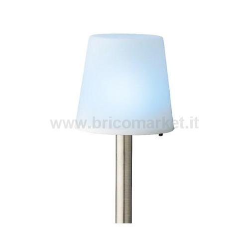 LAMPADA SOLARE DA TAVOLO BIANCA