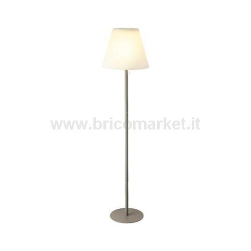 LAMPADA DA TERRA SOLARE A LED