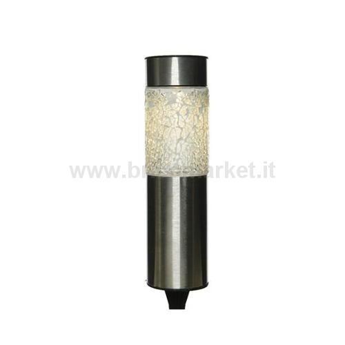 00094514 - PALETTO CON LAMPADA A LED SOLARE