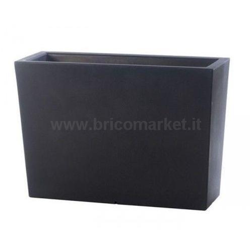 FIORIERA METALLICA COL INDUSTRIAL GREY CM.100X35X31H L.88