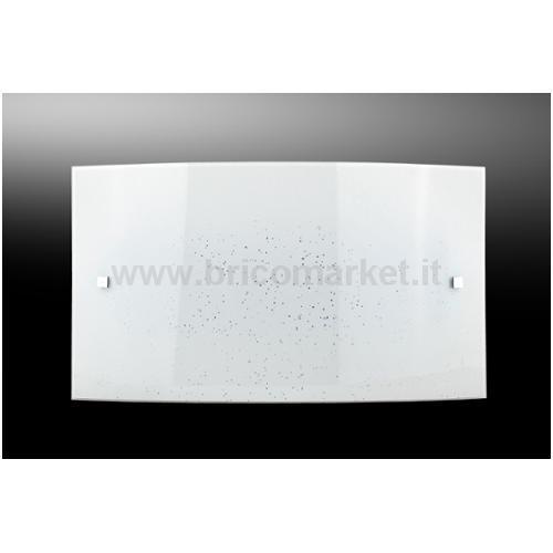 APPLIQUE LED SCINTY 15W 32XH20CM 4000K BIANCA