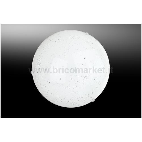 APPLIQUE LED SCINTY 12W D.30CM 4000K BIANCA