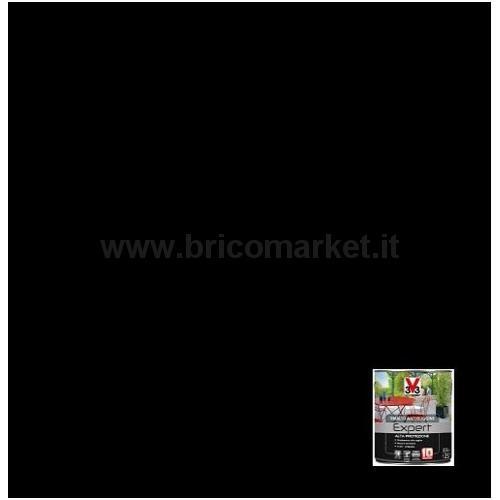 SMALTO ALTA PROTEZIONE PER FERRO ANTIRUGINE LT.0.5 NERO OPACO RAL 9005