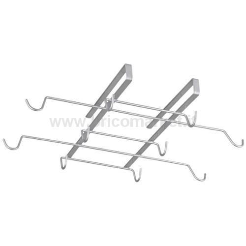 SOTTORIPIANO PORTA 10 TAZZE/MUGS CM 37X28X6 POLYTHERM SPIDER MUG - QUICK BOX