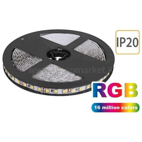 NASTRO LED RGB - 5MT - 60 LED/MT SMD5050 - 12W/MT - 24V - IP20