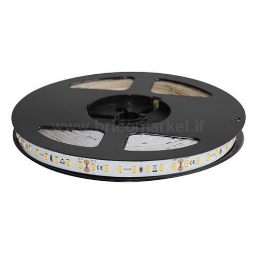 NASTRO LED 5MT - 126 LED/MT SMD2835 - 11W/MT - 24V - 3000K IP20 LUCE CALDA