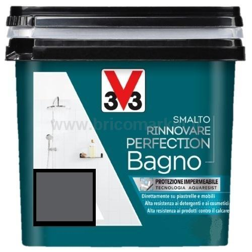 SMALTO RINNOVARE PERFECTION BAGNO 0.75L GRIGIO ANTRACITE SATINATO