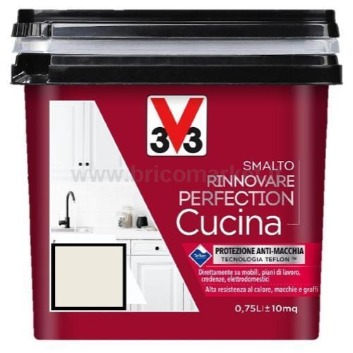 SMALTO RINNOVARE PERFECTION CUCINA 0.75L BIANCO COTONE SATINATO