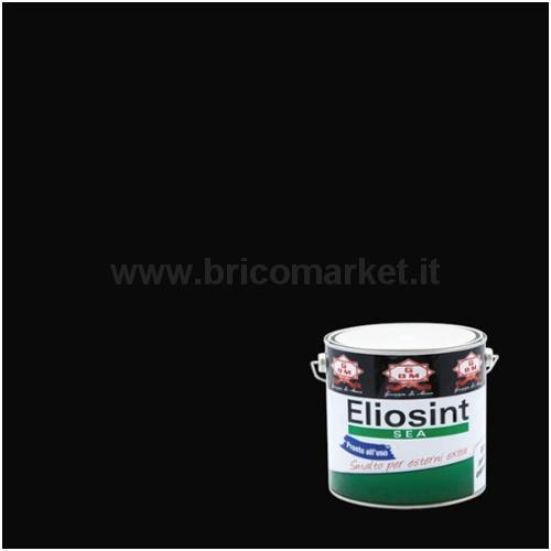 SMALTO SINTETICO NERO ELIOSINT 0,75 L