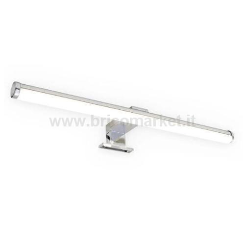 BRILO BATH LAMPADA LED SPECCHIO 40 CM CROMO 6W 4000K 600LM IP44
