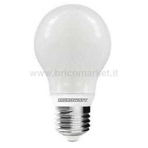 MICROWATT GOCCIA LED 5W E27 3000K 470LM