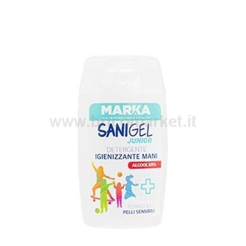 DETERGENTE IGIENIZZANTE SANIGEL JUNIOR 100ML MANI 65% ALCOOL