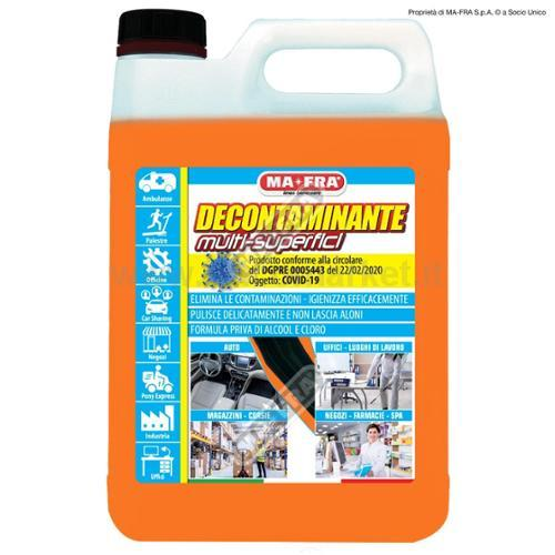 DECONTAMINANTE MULTI-SUPERFICI 5000ML