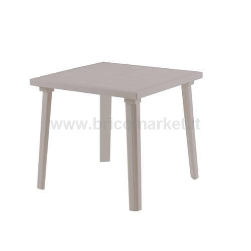 TAVOLO WEEKEND 80X80CM TAUPE