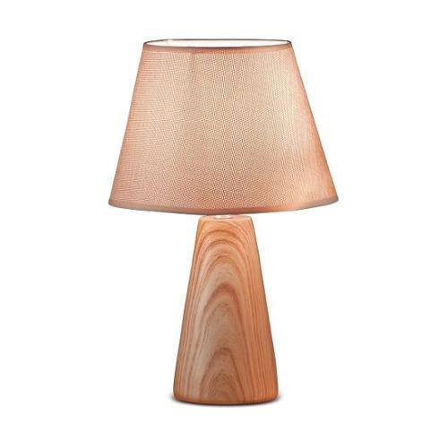 LAMPADA IN CERAMICA ROMY D25XH40CM IN 2 COLORI