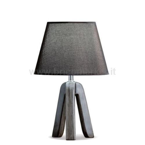LAMPADA IN CERAMICA AMBAR D25XH39CM IN 4 COLORI