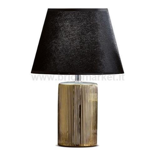 LAMPADA IN CERAMICA VEGAS D25XH37CM IN 2 COLORI