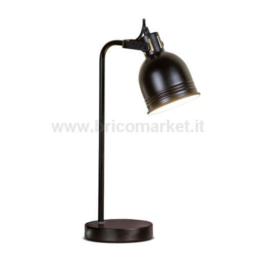 LAMPADA IN METALLO ARITA D14XH44CM IN 3 COLORI