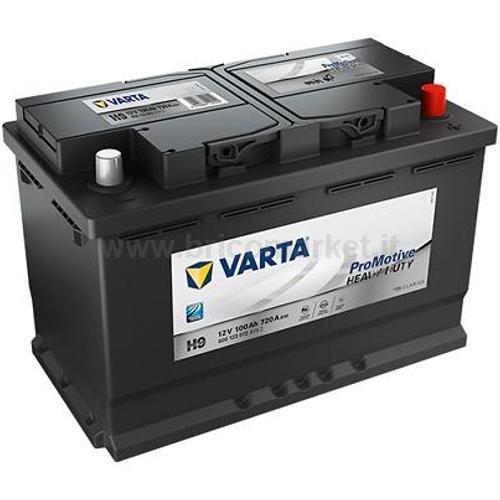 BATTERIA AUTO VARTA 100AH DX A742 PROMOTIVE HD H9