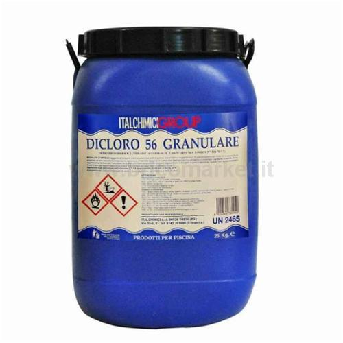 CLORO IN POLVERE HCL56% KG.25