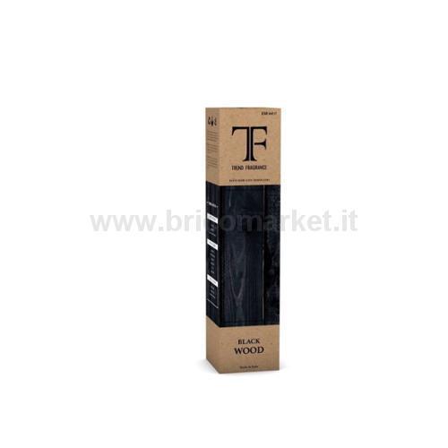 DIFFUSORE CON MIDOLLINI 250ML BLACK WOOD