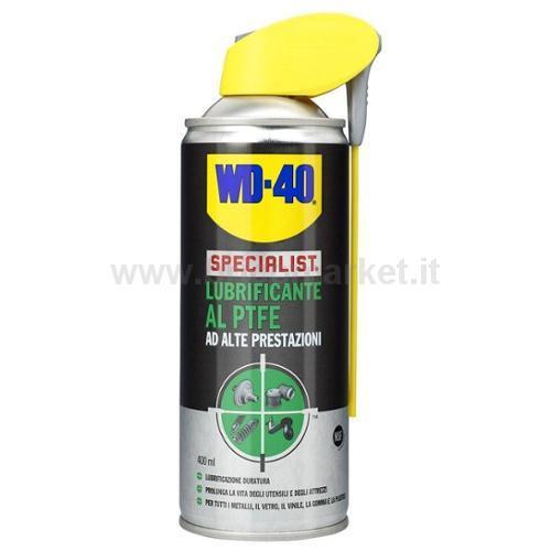 LUBRIFICANTE AL PTFE WD-40 400ML SPRAY SPECIALIST