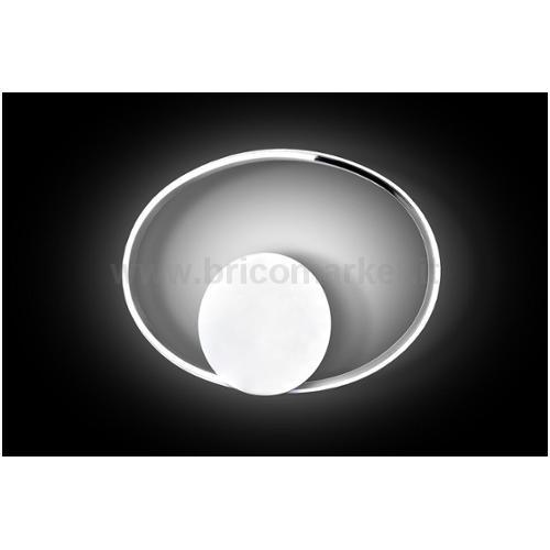 APPLIQUE LED IRINA 20W 4500K 42X4X30CM CROMO