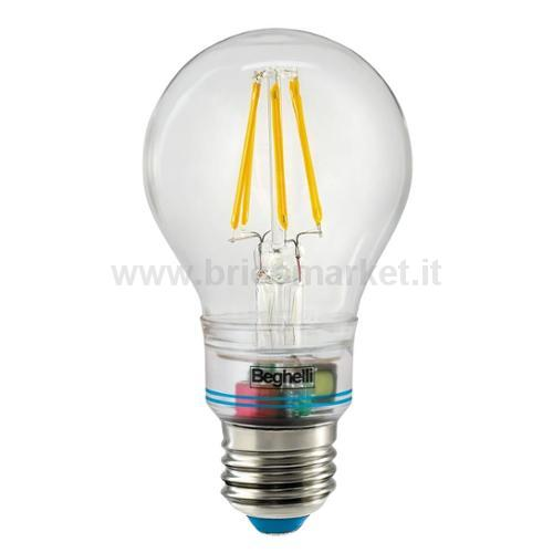 LAMPADINA LED ANTI-BLACKOUT SORPRESA ZAFIRO E27 6W 810LM 2700K