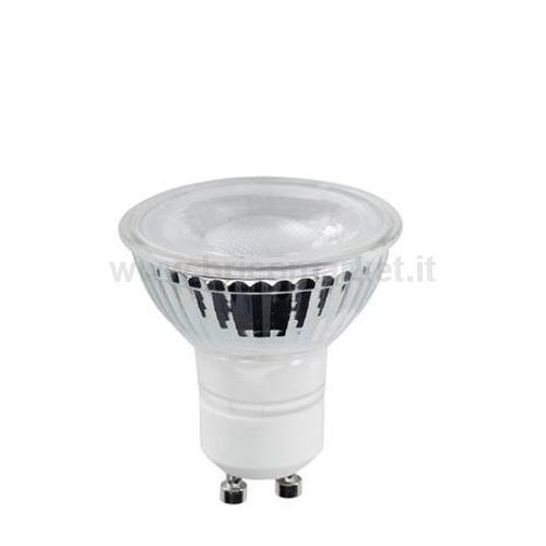 LAMPADA LED GU10 6W 3000K ECOLED GLASS