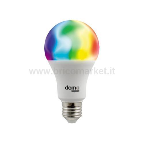 LAMPADA LED GOCCIA E27 11W RGB + 2700-6500K WIFI DOM-E