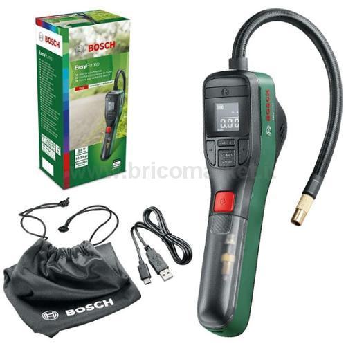 MINI COMPRESSORE CON BATTERIA AL LITO INTEGRATA DA 3,6V/3,0 AH, PRESSIONE MAX 150 PSI / 10.3 BAR