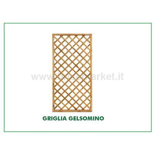 GRIGLIATO GELSOMINO 180X180CM PINO IMPREGNATO