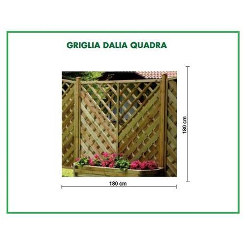 GRIGLIATO DALIA QUADRA 180X180CM