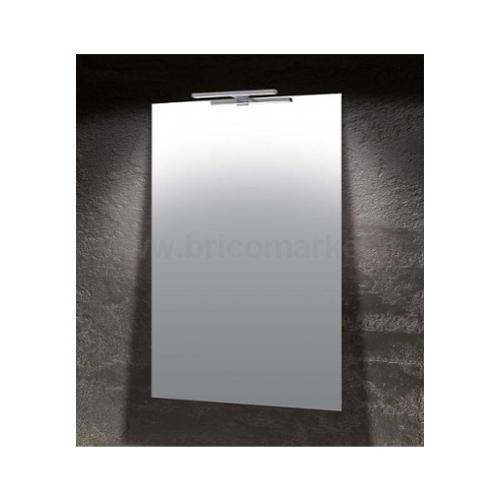 SPECCHIO LUCE A FILO 60X80CM CON LAMPADA LED DA 4.5W IP44