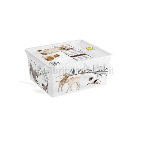 CONTENITORE 40X34X17H CM M PETS COLLECTION