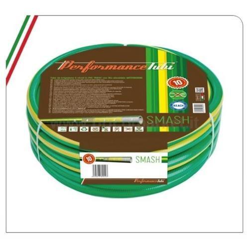 TUBO IRRIGAZIONE SMASH 25M 3/4- 5 STRATI IN PVC MAGLIATO CON FILO ELICOIDALE ANTITORSIONE